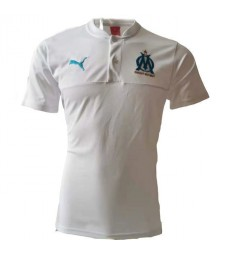 Olympique De Marseille White Polo Shirt 2020