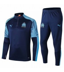 Olympique Marseille Royal blue tracksuit 2019-2020