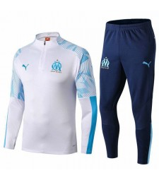 Olympique Marseille White tracksuit 2019-2020