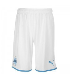 Olympique De Marseille Home Soccer Shorts 2019-2020