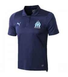 Olympique De Marseille Polo Jersey Navy Shirt 2019