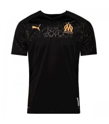 Olympique Marseille Third Jersey Black Mens Shirt 2019-2020
