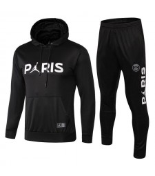 Paris Saint Germain Tracksuits Hoodie Black 2018/2019