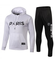 Paris Saint Germain Tracksuits Hoodie White 2018/2019