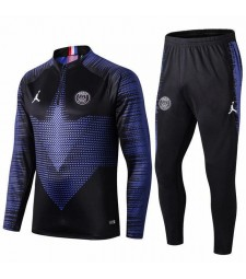 Jordan Paris Saint Germain Black Player Version Tracksuit 2019-2020