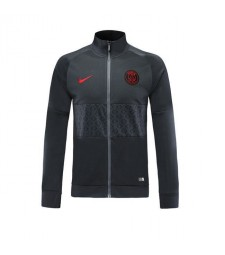 Paris Saint Germain Black Gray Training Jacket 2019-2020