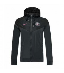 Paris Saint Germain Black Hoodie Jacket 2019-2020