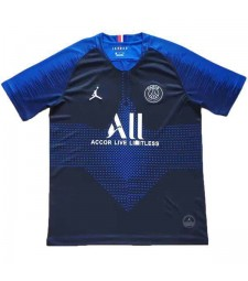 Paris Saint Germain Blue Soccer Training Shirt 2019-2020