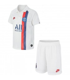 Paris Saint Germain Third White Kids Kit 2019-2020