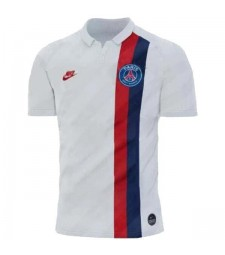 Paris Saint Germain White Third Jersey Mens Football Shirt 2019-2020