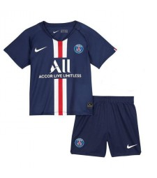 Paris Saint Germain Home Football Kids Kit Jersey 2019-2020