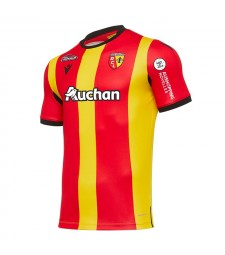 RC Lens Home Soccer Jerseys Mens Football Shirts Uniforms 2020-2021