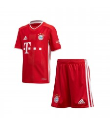 Bayern Munich Home Soccer Jersey Kids Football Kit 2020-2021