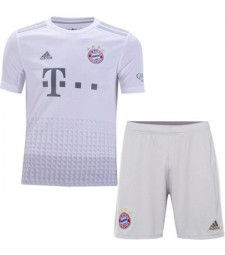 Bayern Munich Kids Away Kit Soccer Children Football 2019-2020