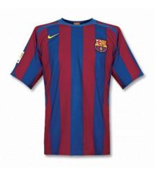 Barcelona Retro Soccer Jerseys Mens Football Shirts Uniforms 2005-2006