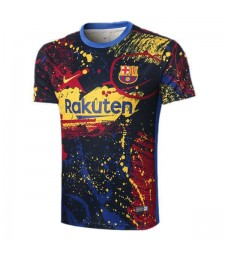 Barcelona Multicolor Training Soccer Jerseys Mens Football Shirts 2020-2021