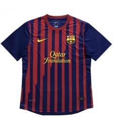 Barcelona Retro Home Soccer Jerseys Mens Football Shirts Uniforms 2011-2012