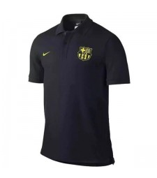 Barcelona Polo Jersey Mens Shirt Black 2019-2020