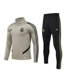 Real Madrid Earth Yellow football  Mens Soccer Tracksuit Sportwear 2019-2020