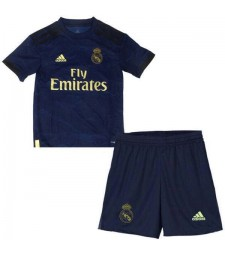 Real Madrid Away Kids Kit Soccer Children Football Shirt Youth Uniforms 2019-2020
