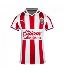 Chivas Home Football Shirt Mens Soccer Jersey 2020-2021