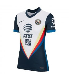 Club America Away Women Soccer Jerseys Female Football Shirts Uniforms 2020-2021