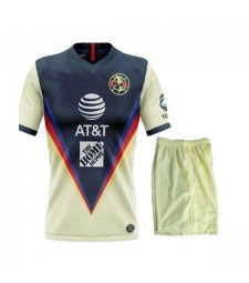 Club America Home Soccer Jerseys Kids Kit Football Shirts Uniforms 2020-2021