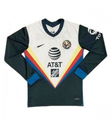 Club America Away Long Sleeve Soccer Jersey Mens Sportwear Football Shirt 2020-2021