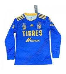 Tigres UANL Away Long Sleeve Soccer Jerseys Mens Football Shirts Uniforms 2020-2021