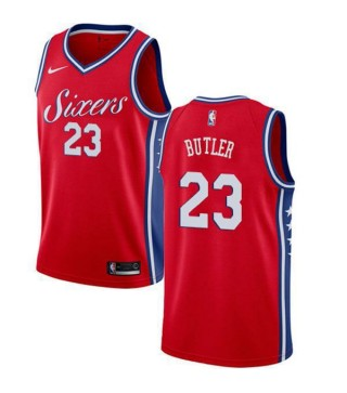 new product e9945 854c5 Philadelphia 76Ers Jimmy Butler 23# Jersey Red 2018/2019