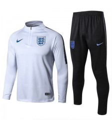 England White Soccer Tracksuit 2018/2019