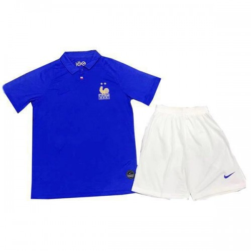 buy online 8be36 ea4d6 France Football Association 100th Anniversary Edition Kids Kit