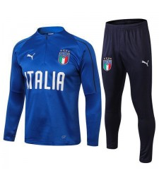 Italy Light Blue Tracksuit 2018/2019