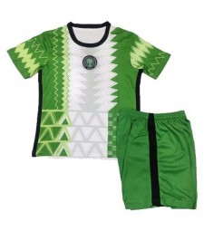 Nigeria Home Football Jersey Kids Soccer Kit 2021