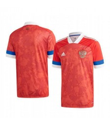 Russian Home Euro 2020 Mens Soccer Jersey