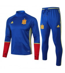 Spain High Necked Blue Tracksuit 2018/2019