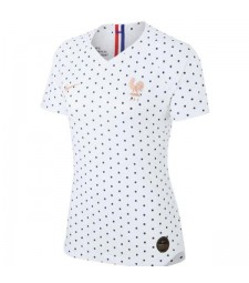 France Away Women 2019 World Cup Jersey