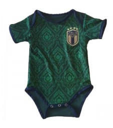 Italy Third Baby Onesie New Born Baby Sunmmer Clothes Jumpsuit Euro Cup 2020