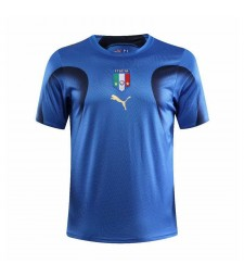 Italy Retro Home Soccer Jerseys Mens Football Shirts 2006