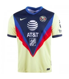 Club America Home Jersey Match Mens Sportwear Football Shirt 2020-2021