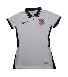 Corinthians Home Women Soccer Jerseys Female Football Shirts Uniforms 2020-2021