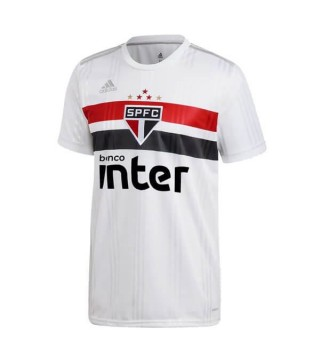 Sao Paulo Home Soccer Jerseys Mens Football Shirts Uniforms 2020-2021
