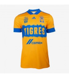 Tigres UANL Home Soccer Jerseys Mens Football Shirts Uniforms 2020-2021