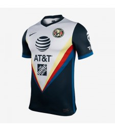 Club America Away Jersey Match Mens Sportwear Football Shirt 2020-2021