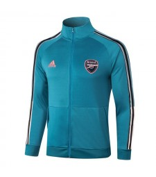 Arsenal Lake Blue Soccer Jacket Football Tracksuit 2020-2021