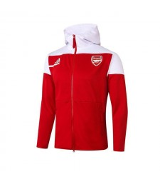 Arsenal Red Football Jacket Soccer Hoodies Tracksuit 2020-2021