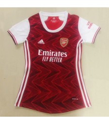 Arsenal Women Home Soccer Jersey Female Football Shirts 2020-2021