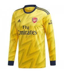 Arsenal Away Long Sleeves Jersey Mens Soccer Football Shirt 2019-2020