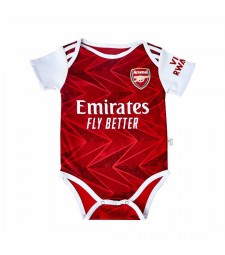 Arsenal Home Baby Onesie Jersey Jumpsuit 2020-2021