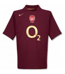 Arsenal Home Retro Jersey Mens First Soccer Sportwear Football Shirt 2005-2006